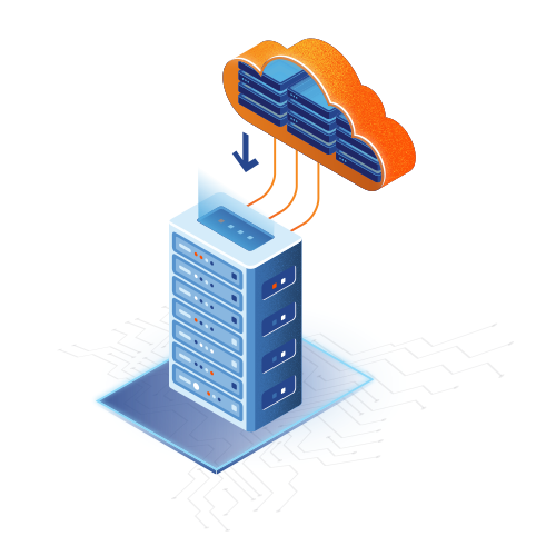 fast recovery for oncloud servers